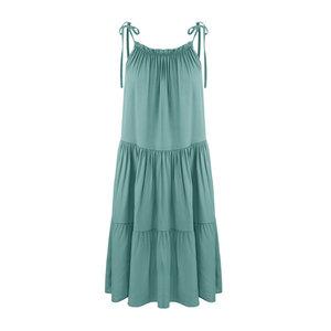 Musthave jurk Kiki Jade groen mini jurk