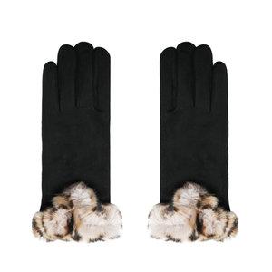 Zachte dames handschoenen Warm Touch Zwart warme handschoenen