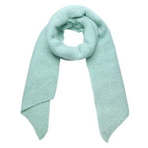Warme dames sjaal Comfy Winter|Mintgroen effen shawl