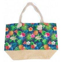 Beach Bag Pineapple party Strandtas Tropische print Canvas