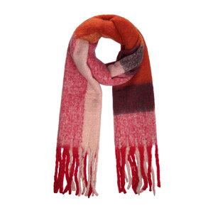 Warme damessjaal Hey Red wintershawl