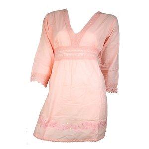 Scarfz dames tuniek top roze