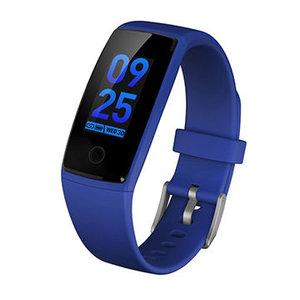 GPS Boss activity tracker blauw fitness horloge bloeddrukmeting hartslag