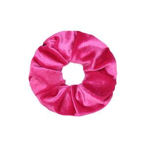 Scarfz scrunchie velvet sweet velvet haarelastiek hair tie roze pink