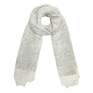 4f8a15dfa84 Lange dames sjaal Shimmering Snake|Lange shawl|Beige glitter. Scarfz lange  sjaal Shimmering Snake beige slangenprint