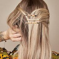 Scarfz haarclip haarschuifje hairclip Dream Away beige