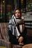 Mooie lange warme sjaal Cream|Zwart beige Grijs|Dikke kwaliteit|Geruit Geblokt